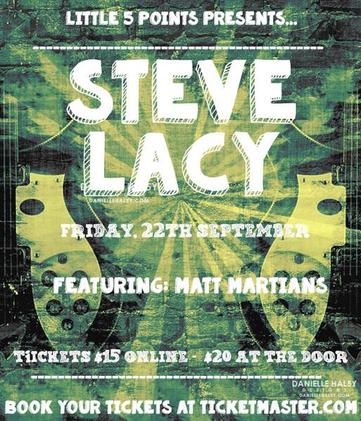 .STEVE LACY.