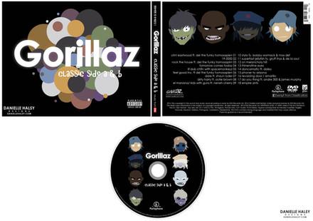 GORILLAZ CD PACKAGING