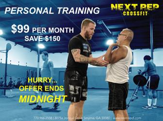 .CrossFit Personal Training.