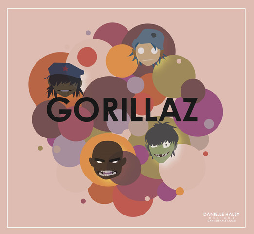.GORILLAZ BUBBLE.