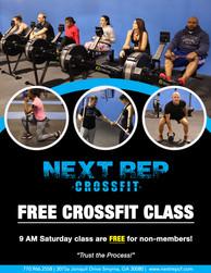 .CrossFit Class.