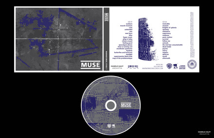 MUSE CD PACKAGING