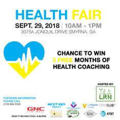 .Health Fair 3.