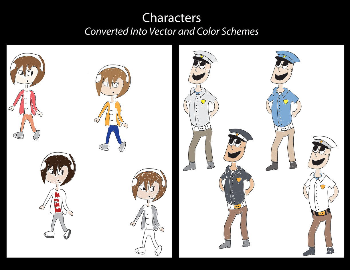 .CONCEPT ART CHARACTERS & COLOR