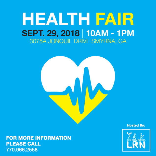Health Fair Post 2 (Instagram)