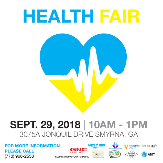 Health Fair Post 3 (Instagram)