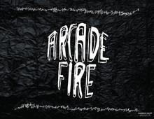 ARCADE FIRE (TYPOGRAPHY)