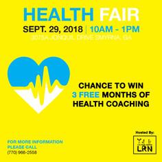 .Health Fair 2.