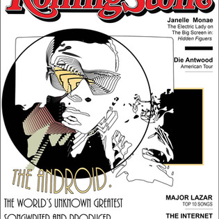 THE ANDROID ROLLING STONE