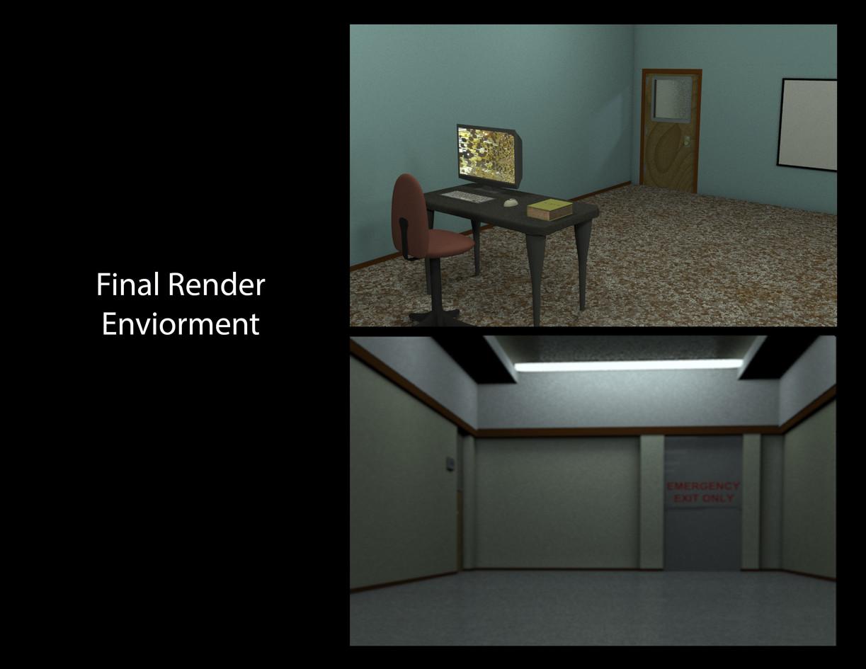.3D ENVIROMENT RENDER.