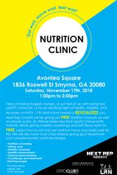 .Nutrition Clinic.