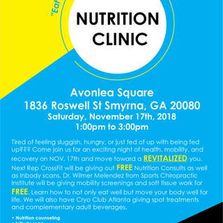 Nutrition Clinic Flyer
