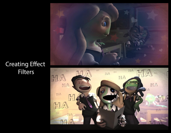 POST PRODUCTION EDITING EFFECTS