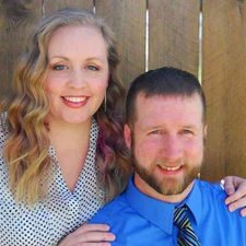 Justin Buchanan Rehab Deal Paige and Rose Property Solutions in Anderson, IN Justin Buchanan with Gina Buchanan