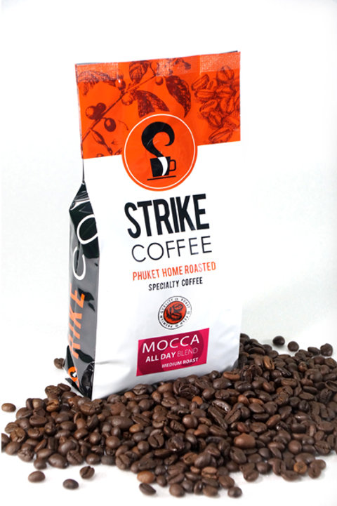 Strike Coffee : Mocca All Day  Blend