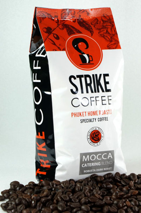 Strike Coffee : Mocca Catering  Blend