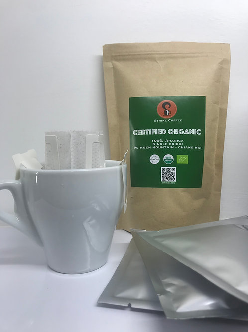 Certified Organic - Drip Pack