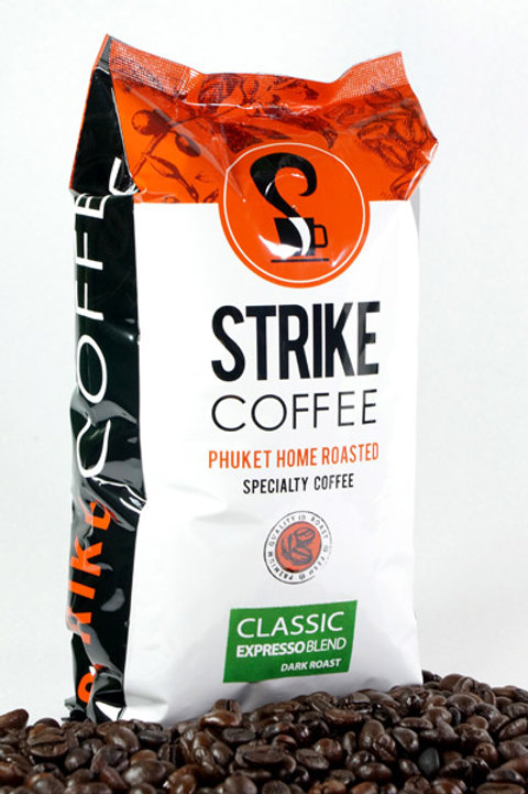 Strike Coffee : Classic Espresso Blend