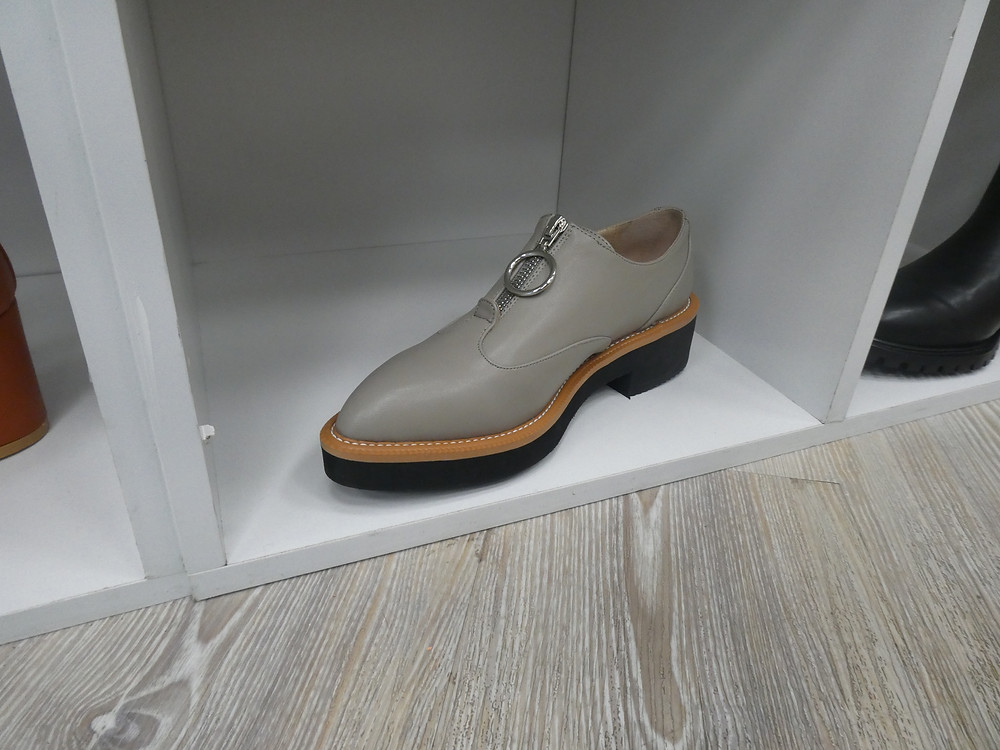 Collection & Co vegan leather brogue shoes