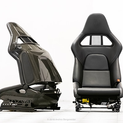 911 GT2 Seats for Bring a Trailer