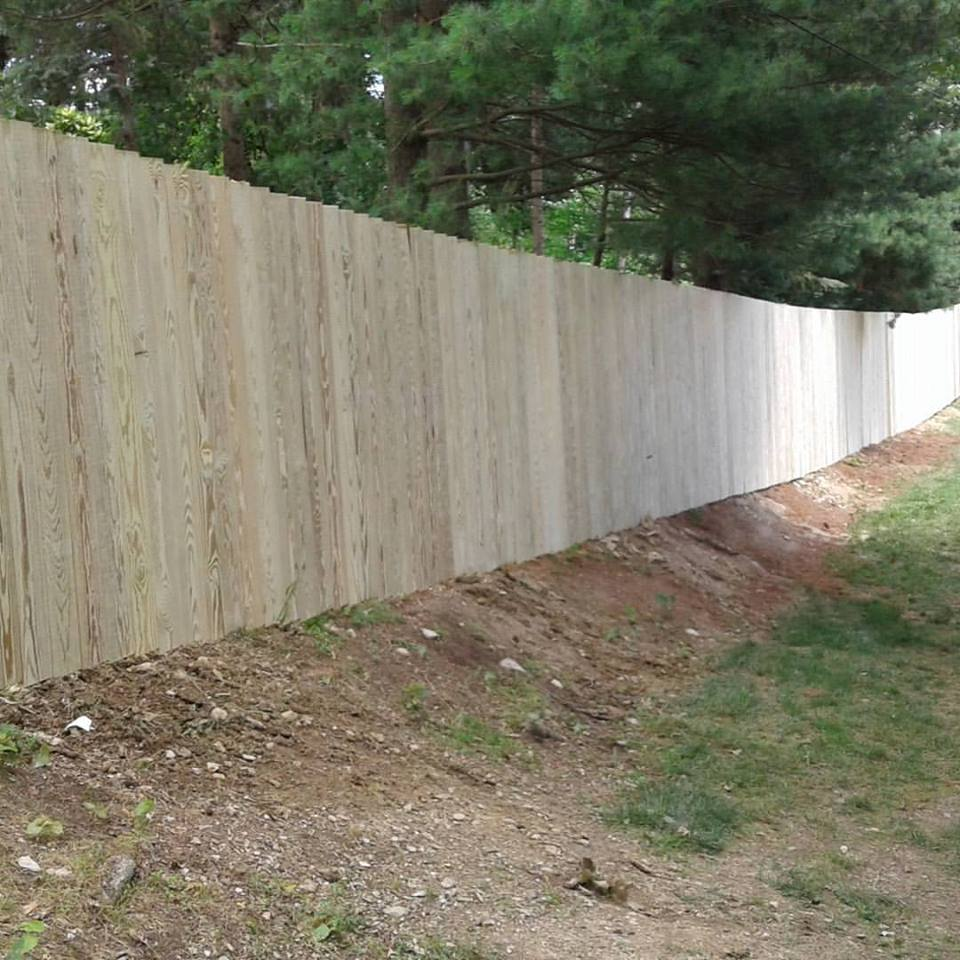 A fresh new fence