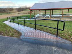New safe walkway