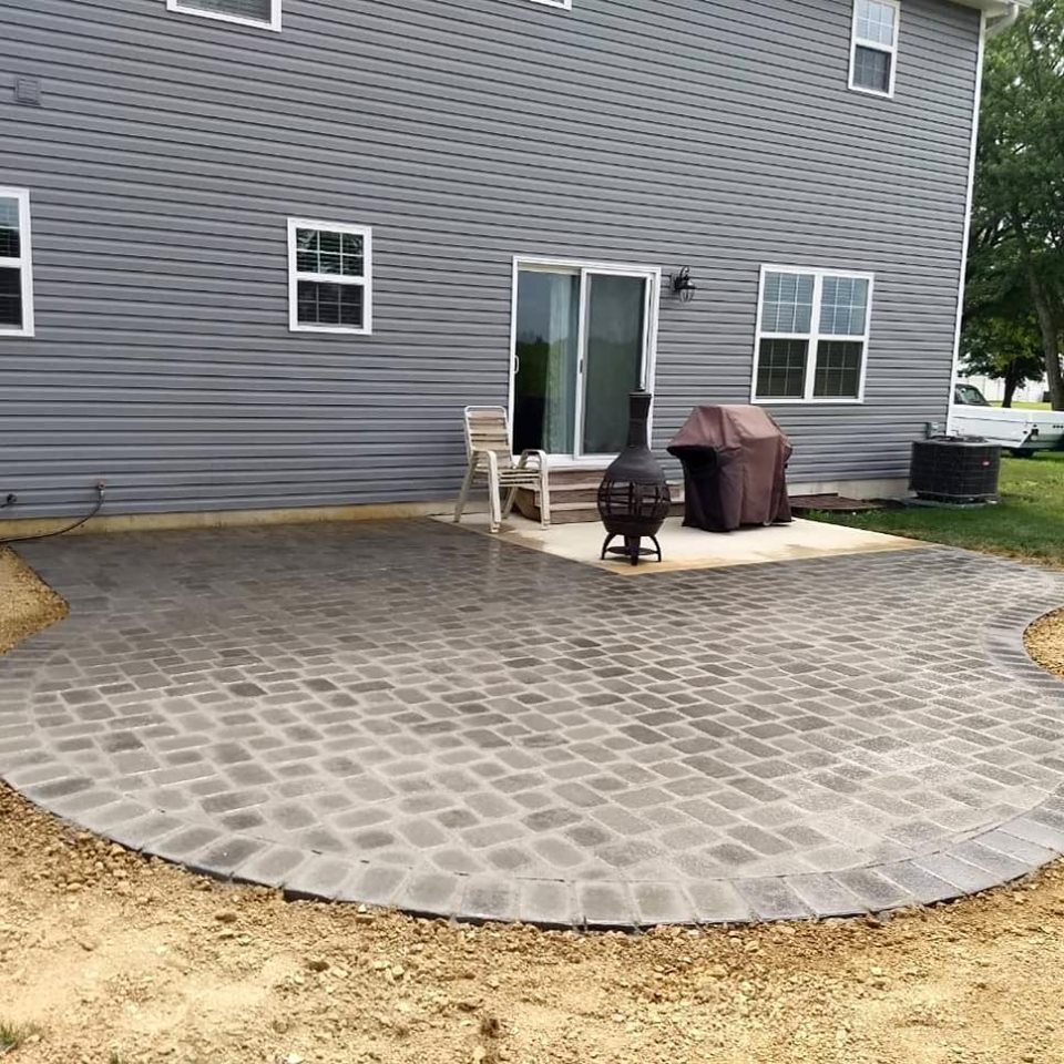 Antique Gray Patio
