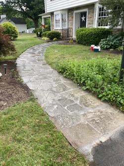 Random Flagstone walkway