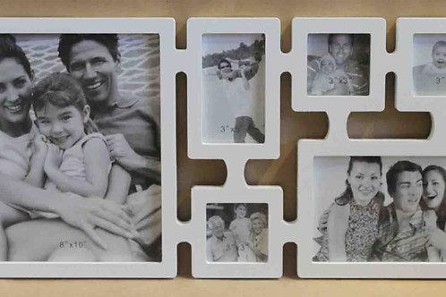 Portafoto o marco múltiple para 6 fotos
