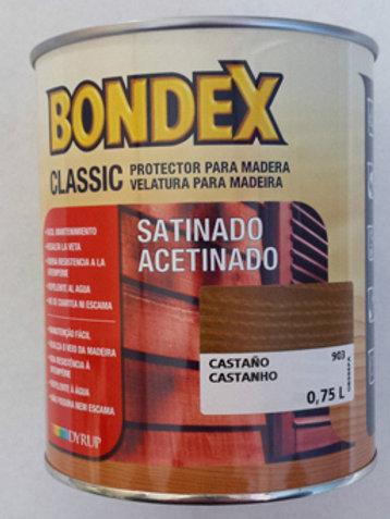 Lasur BONDEX protector para madera 0,75 LTRS.