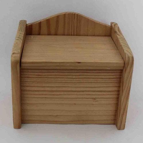 Azucarero de madera