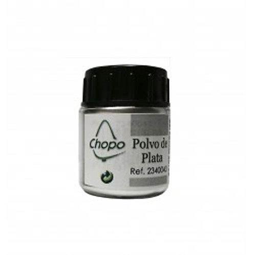 Polvo de Plata, Purpurina en polvo color Plata 5 gr