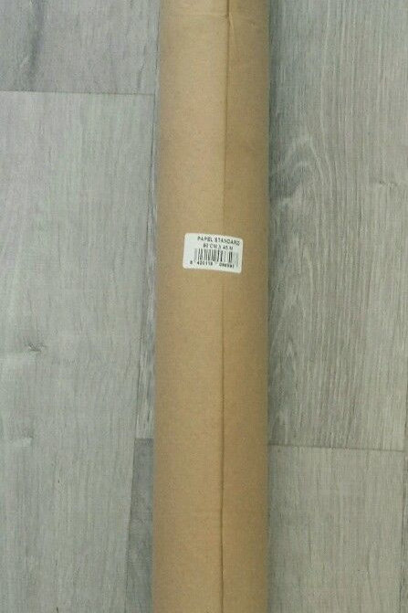 Rollo de papel kraft bobina 90cmx45m, gramaje 50
