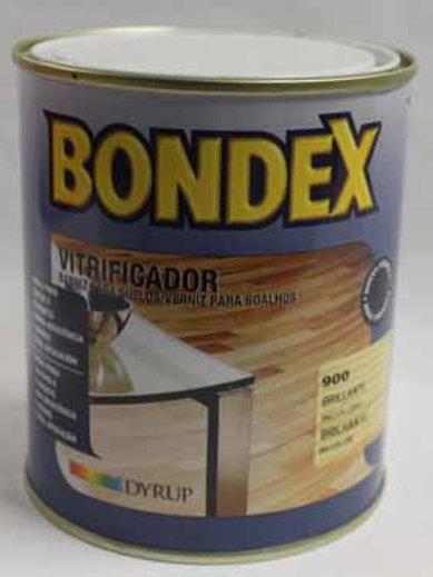 Barniz int. BONDEX VITRIFICADOR SATINADO 0,75 L.