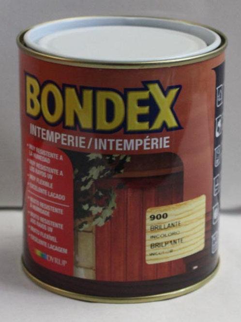 BARNIZ INTEMPERIE BRILLANTE INCOLORO BONDEX 0,75 L