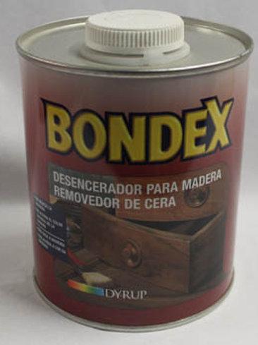 DESENCERADOR PARA MADERA BONDEX 1 L.