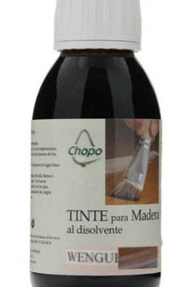Tinte Madera al disolvente Chopo 125 cc color WENGUE