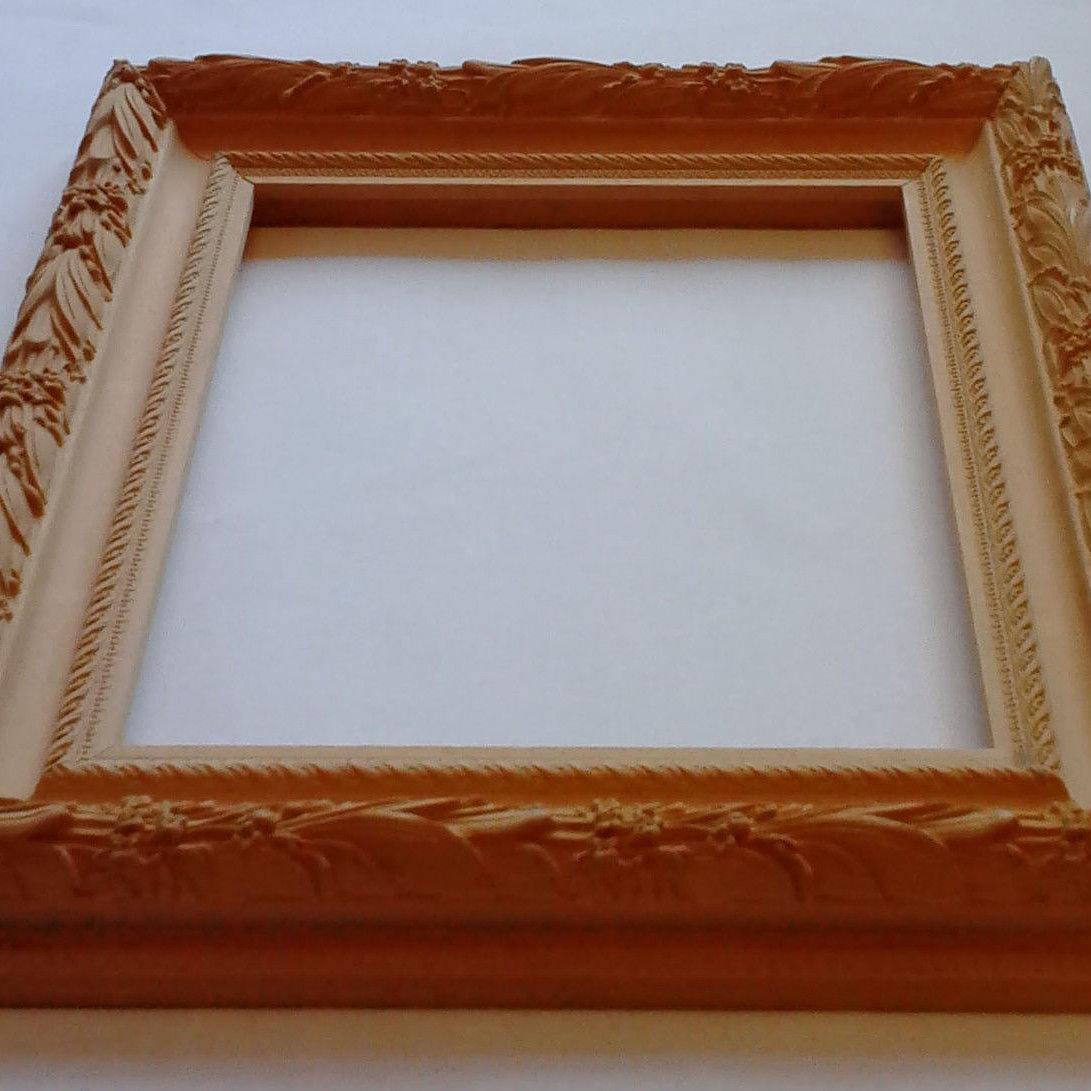 Como decorar marcos de madera porta retrato adorno marco - Marcos de madera para decorar ...