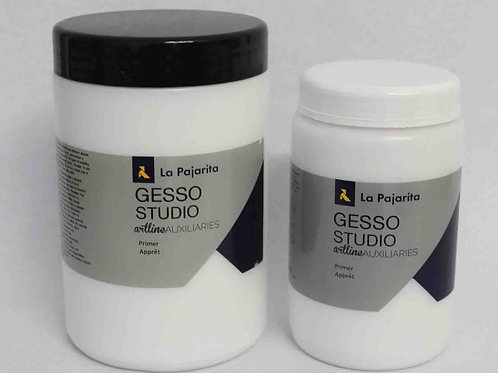 GESSO STUDIO (al agua) Imprimación de La Pajarita