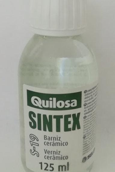 BARNIZ CERÁMICO SINTEX S-19 de QUILOSA 125 ml