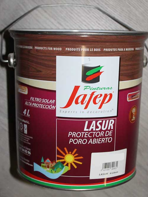 LASUR JAFEP COLOR. 4 Litros