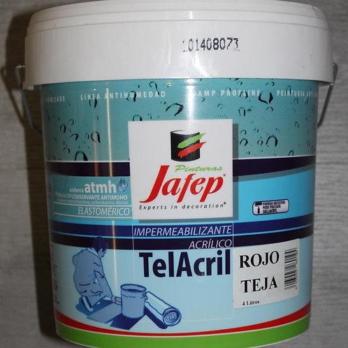 Telacril Terrazas JAFEP ROJO TEJA 15 L.
