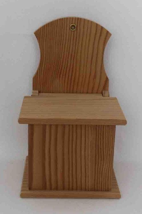 Salero de madera