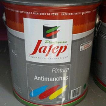PINTURA ANTIMANCHAS, 4 LITROS JAFEP