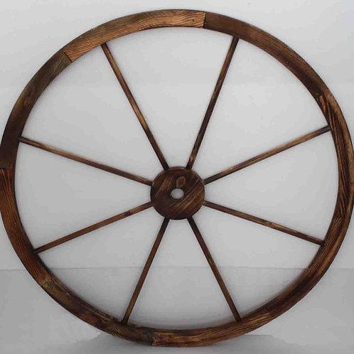 Rueda carro madera diámetro 1 m