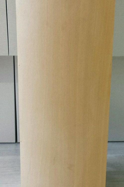 Paragüero de madera natural cuadrado bombado