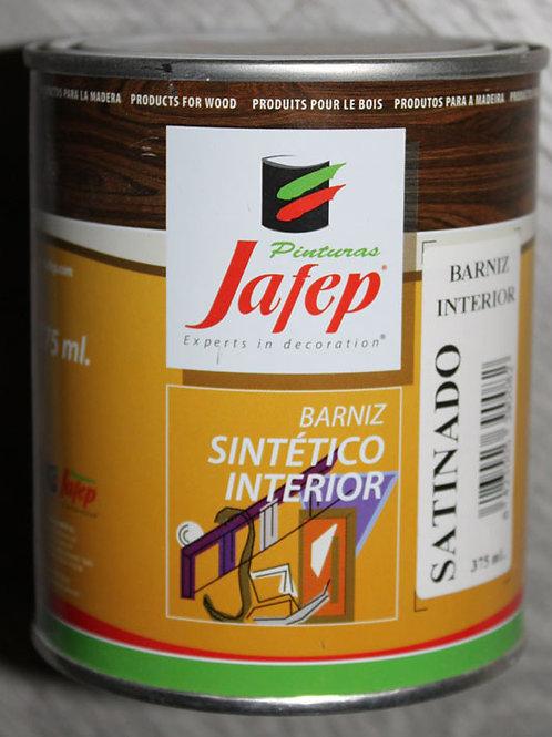 Barniz sintético INTERIOR SATINADO. 0,75 L.