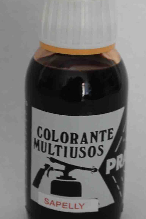 COLORANTE MULTIUSOS Tinte color SAPELLY