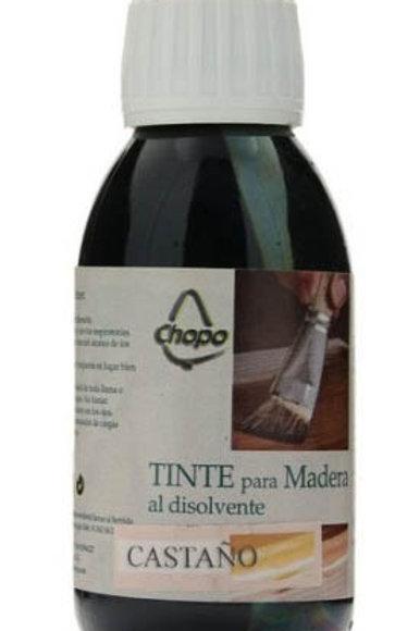 Tinte Madera al disolvente Chopo 125 cc color CASTAÑO