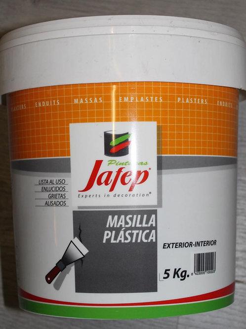 MASILLA PLÁSTICA Exterior-Interior Jafep 5 KG
